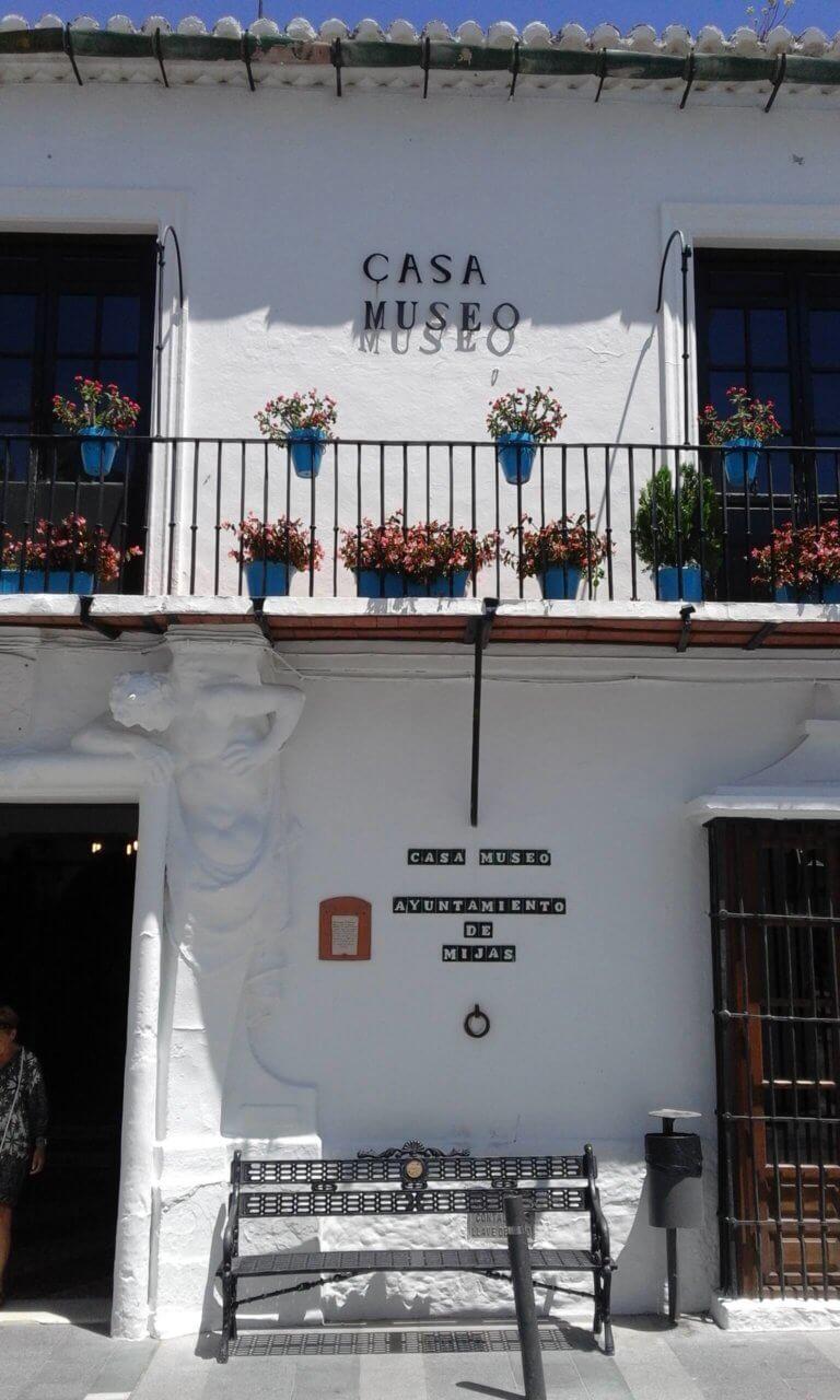 Eingang Museum Mijas Pueblo