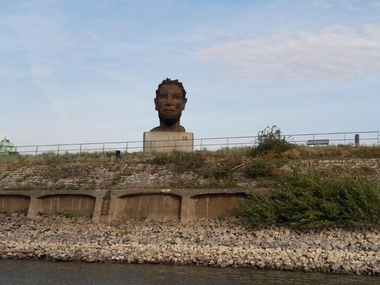 Skulptur Binnenhafen Duisburg