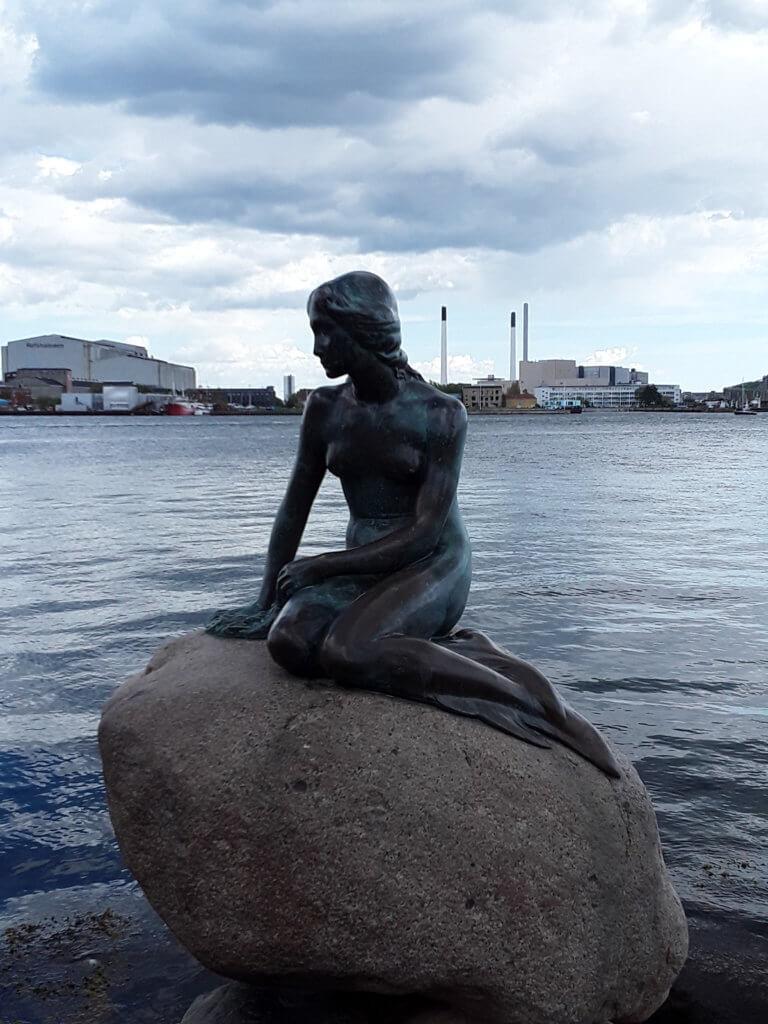 kleine Meerjungfrau Wahrzeichen von Kopenhagen
