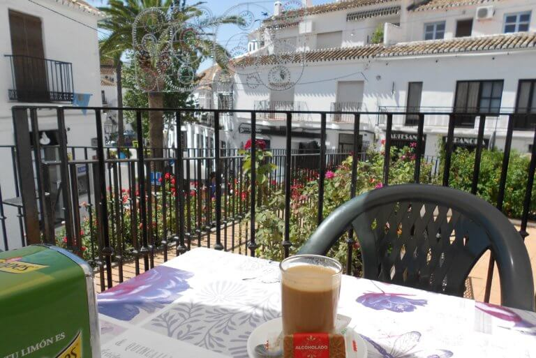 Cafe con Leche in Mijas Pueblo
