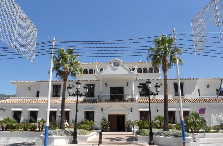Rathaus von Mijas Pueblo in Andalusien