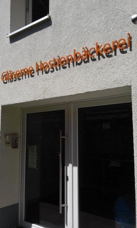 Schau-Hostienbäckerei