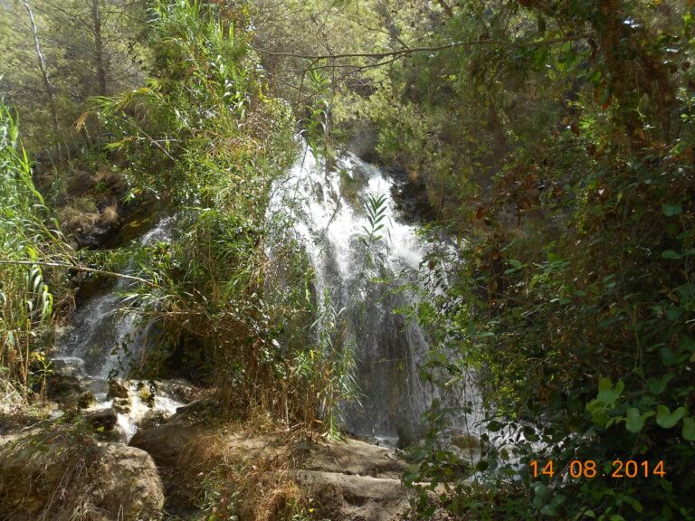 Wasserfall im Rio Chillar