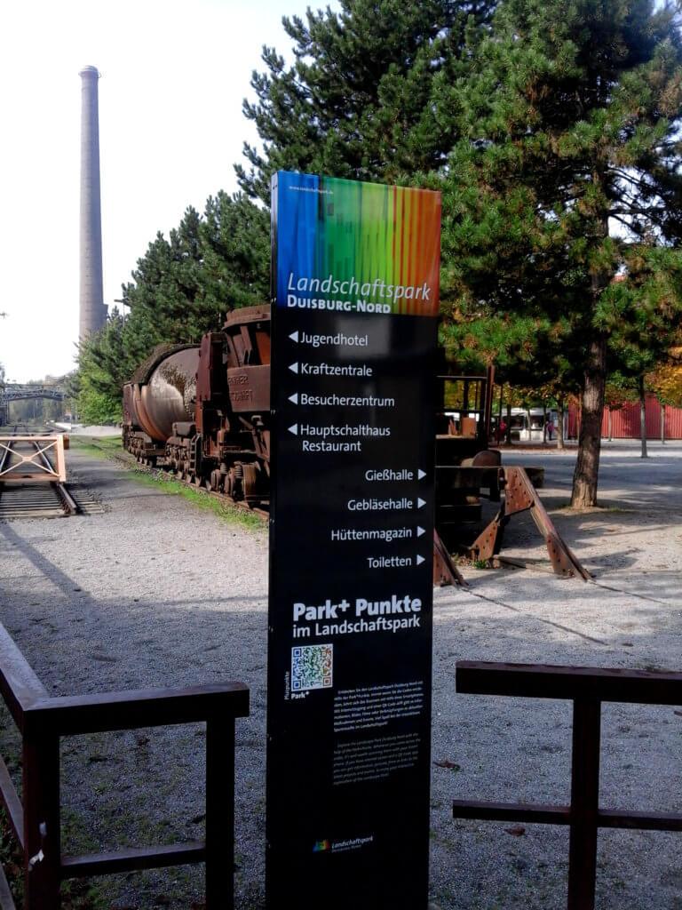 Eingang-Landschaftspark