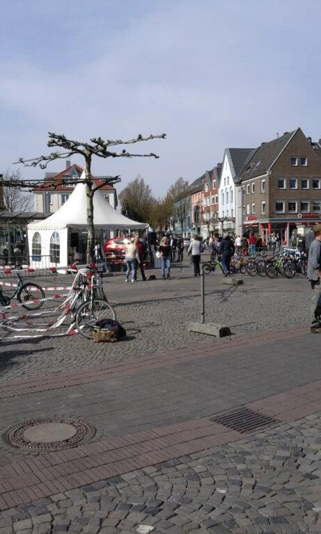 Geldern Niederrhein Marktplatz